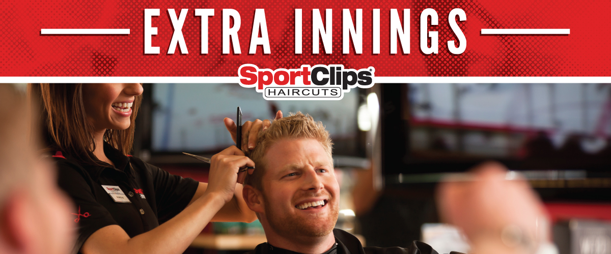 The Sport Clips Haircuts of Grove City Extra Innings Offerings