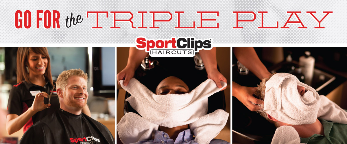 The Sport Clips Haircuts of Grove City Triple Play